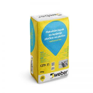 Ljepilo Webercol Flex 25 kg (Weber)